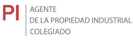 AGENTE DE LA PROPIEDAD INDUSTRIAL COLEGIADO